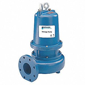 Goulds submersible water sewage pump